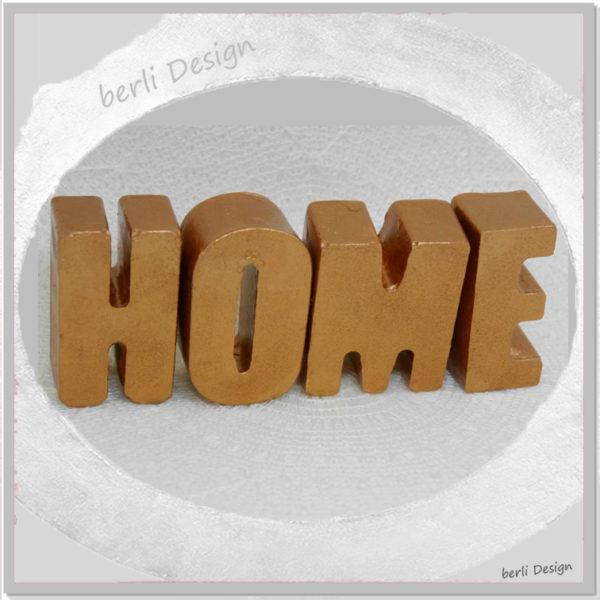 Home Schriftzug